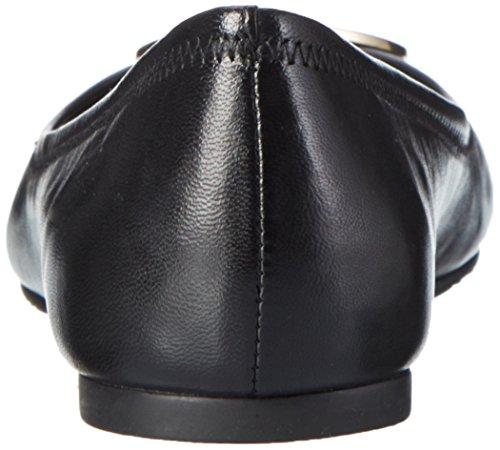 50008690REVABALLET051 Tory Burch Ballerine Femme Cuir Noir Noir