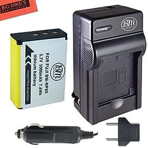 NP-85 Battery and Charger Kit for FujiFilm FinePix S1 SL240 SL260 SL280 SL300 SL305 SL1000 Digital Camera + More!!