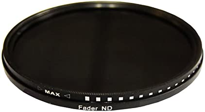 PLR Optics 67MM HD Multi-Coated Variable Range (ND3, ND6, ND9, ND16, ND32, ND400) Neutral Density (ND) Fader Filter - 6 Filters in 1! For The Nikon D5300, D5000, D3000, D3300, D3200, D5100, D5200, D3100, D7000, D7100, D750, D