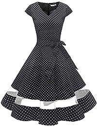 taglia 40 4dd51 7086f Amazon.it: vestiti anni 60 - Vestiti / Donna: Abbigliamento