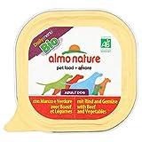 Almo Nature - Dog - Daily Menu Bio Paté - Rind & Gemüse - 9x 300 g