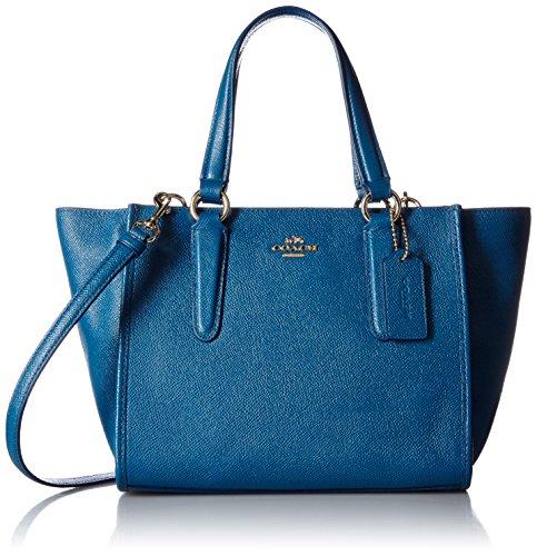 COACH - Borsa; Donna; Chiusura a zip;Tracolla removibile; Blu denim - Female