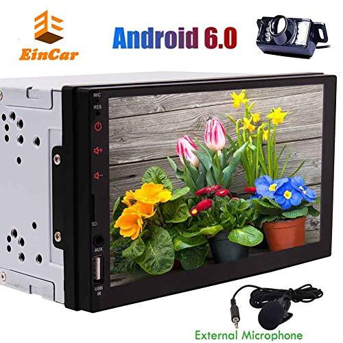 Eincar 2 DIN Android 6.0 Car Stereo System 7 '' Pantalla táctil...