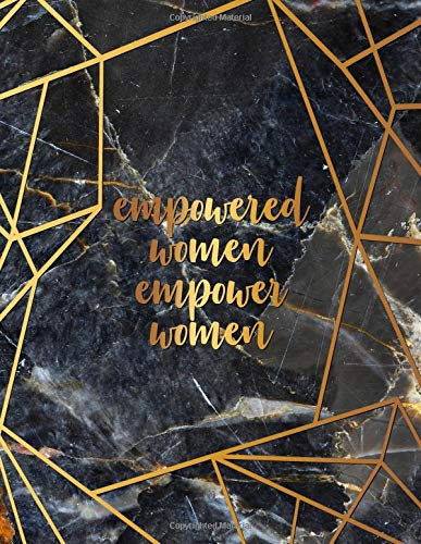 Empowered Women Empower Women: Pretty Grey Marble Girly Daily, Weekly and Monthly 2019 Planner Organizer. Nifty Bronze Female Empowerment Inspirational Yearly Agenda, Notebook and Journal. por Nifty Planners