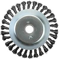 Cepillo de malezas Junta giratoria Nudo giratorio Cepillo de rueda de alambre de acero Disco Disco Paisajismo y corte Maquinaria de riego Accesorios + Plata