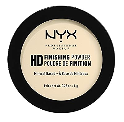 Nyx HD Finishing Powder - Banana 8 grams from NYX