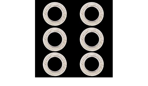 DIN 582 gegossen und poliert aus rostfreiem Edelstahl A2 Ringmuttern - /Ösenmuttern SC582 SC-Normteile/® 50 St/ück - /ähnl - M6 - V2A
