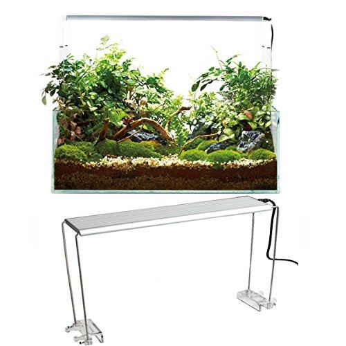 Tutoy 4Pcs Edelstahl-Aquarium-Standplatz Für Aquatic High Led-Licht-Lampen-Fisch-Behälter-Halter-Haltewinkel-Unterstützung -