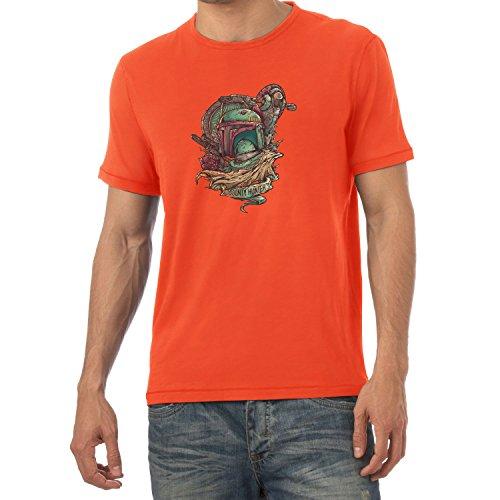 TEXLAB - Bounty Hunter Logo - Herren T-Shirt Orange