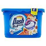 Dash Pods 15 Caps Ambra Detersivo Lavatrice in Monodosi