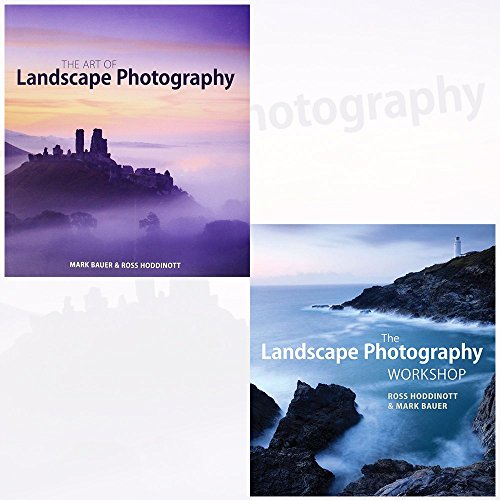 Art of Landscape Photography and Landscape Photography Workshop 2 Books Collection Set