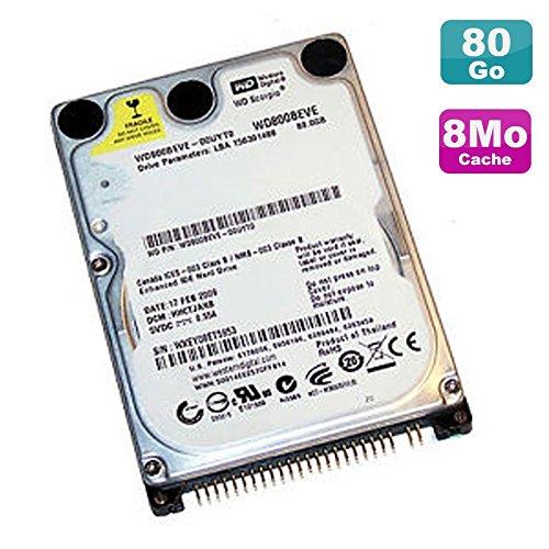 80gb 5400rpm Ide-festplatte (Festplatte Laptop 80 GB IDE 2.5
