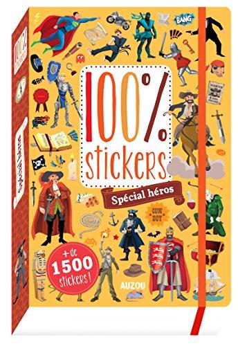 100% stickers - spécial héros