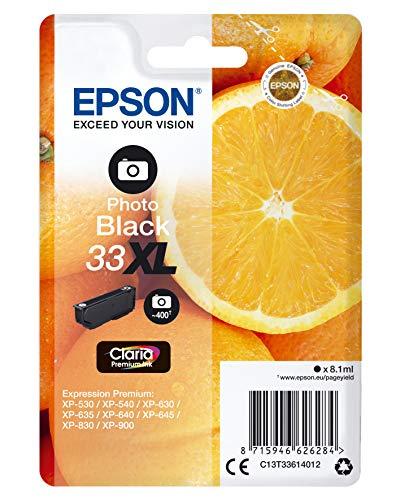 Epson C13T33614022 Foto Black Original Tintenpatronen Pack of 1