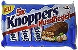 Knoppers NussRiegel – der erste Riegel auf Knoppers Art – 5er Packung