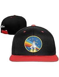 La Nasa Rocket juventud Unisex contraste Color Gorra de béisbol sombreros (4 ...