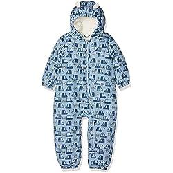 NAME IT Nbmmir Suit, Traje de esquí para Bebés, Multicolor (Dusty Blue Dusty Blue), 62-68 (Talla del fabricante: 2-6 meses)