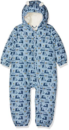 NAME IT Nbmmir Suit, Traje de esquí para Bebés, Multicolor (Dusty Blue Dusty Blue), 74-80 (Talla del fabricante: 6-12 meses)