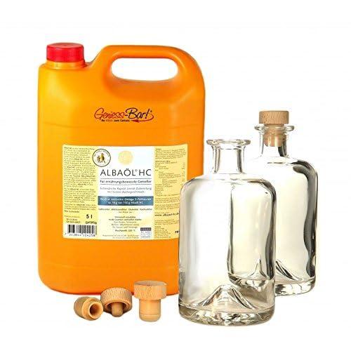 Albal Alba Rapsl 5 L Das Neue Hc Original Butter L Cholesterin U Laktosefrei Inkl 2 Flaschen Ausgieer