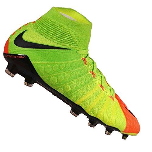 Nike HYPERVENOM PHANTOM III DF FG ELECTRIC GREEN/BLACK-HYPER ORANGE-VOLT