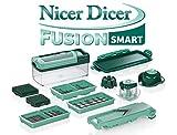 Genius - Nicer Dicer Fusion Smart Set 13-tlg. mintgrün