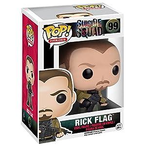 Funko Pop Rick Flag (Escuadrón Suicida 99) Funko Pop Escuadrón Suicida