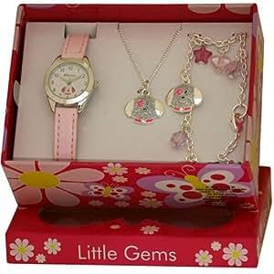 Ravel Kids Little Gemz Children's Jewellery Set Watch R2218