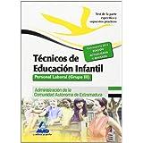 Técnicos En Educación Infantil. Personal Laboral De La Administración De La Comunidad Autónoma De Extremadura. Test De La Parte Específica Y Supuestos Prácticos. Grupo III