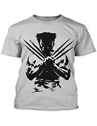 Wolverine Round Neck T-Shirt Gray.