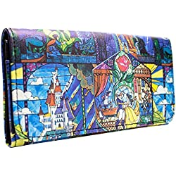 Cartera de Beauty and the Beast Montaje Azul