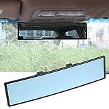 Comaie® Rückspiegel Auto Rückspiegel large-view (Titan, ultra-HD-Dashcam mit Rückfahrkamera, transparent