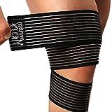 ACME - Genouillère / Coudière / Pied Bandage Protège Genou Velcro Élastique Pour Sport