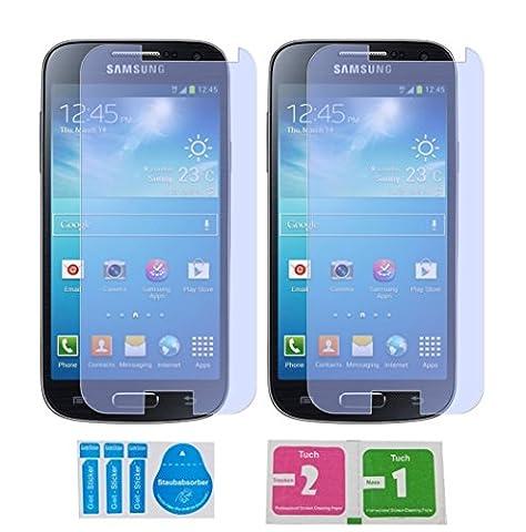 2x »Samsung Galaxy S4 Mini« Panzerglas Displayschutzfolie | Blasenfrei | Ultra-HD | Bruchsicher | Rytek Panzerglasfolie ►lebenslange Garantie