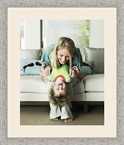Cadres photos pêle mêle multivues Blanc Cassé 1 photo(s) 40x50 Passe Partout, Cadre photo mural 50x60 cm Taupe, 3.5 cm de largeur