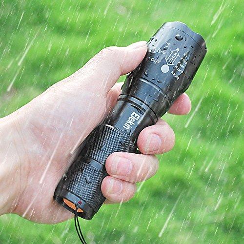 Elekin Taschenlampe 1000 Lumen LED T6