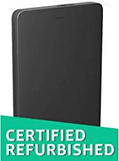(CERTIFIED REFURBISHED) Toshiba Canvio Alumy 2 TB Wired External Hard Disk Drive (Black)