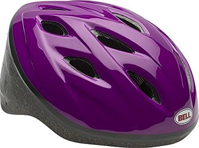 BELL SPORTS INC - Bike Helmet, Girls', Purple from BELL SPORTS INC
