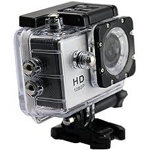 "Star DV3300SW - Cámara deportiva de 16 MP (pantalla de 2"", Full HD, 1080p, WiFi) color plata"