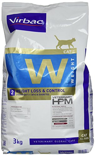 Virbac Veterinary HPM Cat Weight L&C Nourriture pour Chat Sac de 3 kg