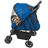 Bild: Pet Gear Happy Trails Hundebuggy blau