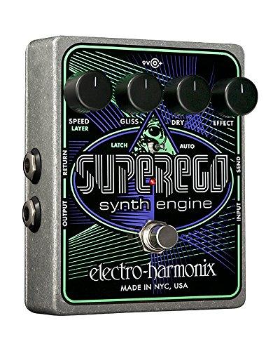 Electro Harmonix Superego Pedale per Chittara Elettrica, Argento