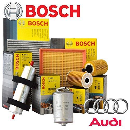 Kit tagliando 4 filtri Bosh ORIGINALI (1457429192 OPPURE F026407023, F026402068, F026400157, 1987432369)
