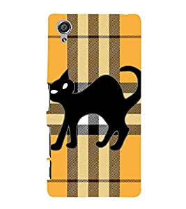 Sony Xperia X :: Sony Xperia X Dual F5122 cat Printed Cell Phone Cases, kitten Mobile Phone Cases ( Cell Phone Accessories ), anime Designer Art Pouch Pouches Covers, cute Customized Cases & Covers, girly Smart Phone Covers , Phone Back Case Covers By Cover Dunia
