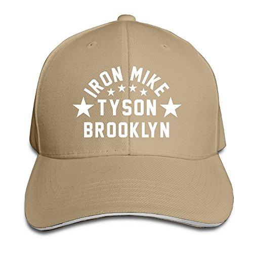 trithaer-custom-iron-mike-tyson-brooklyn-adjustable-sandwich-hunting-peak-hat-cap