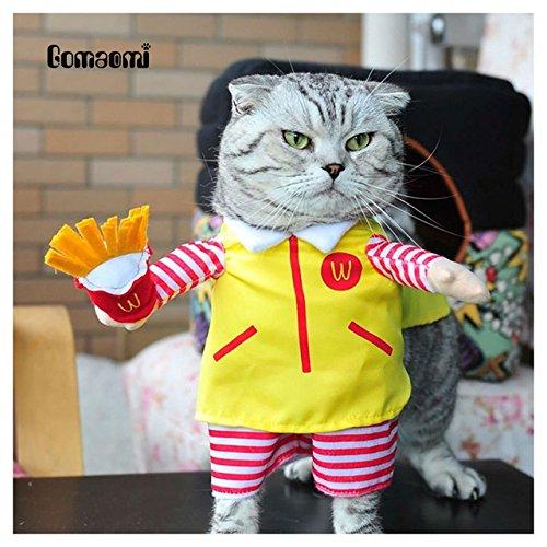 momshand süsse Haustier Hund Katze Kostüm Anzug Puppy Kleidung Party Halloween Verkleidungen Party (Ihrer Eigenen Halloween Kleidung Kostüme Aus)
