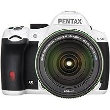 Pentax K-50Cámara réflex digital de 16Mp Kit con Da L 18–55mm WR F3.5–5.6y 50–200mm WR lentes (negro)–versión internacional