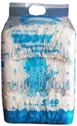 Teddyy Super Baby Small Size Diaper (60 Count)
