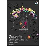 URSUS 3814090se––Cartón fotográfico bloque Edición Especial 300g/m², DIN A3, 10hojas, color negro