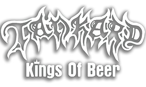 Tankard - carsticker King of Beer - Lunotto posteriore adesivo 71 x 35 cm geplottet