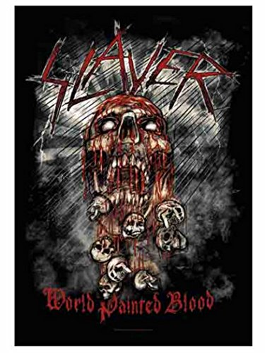Slayer poster Fahne World Painted Blood